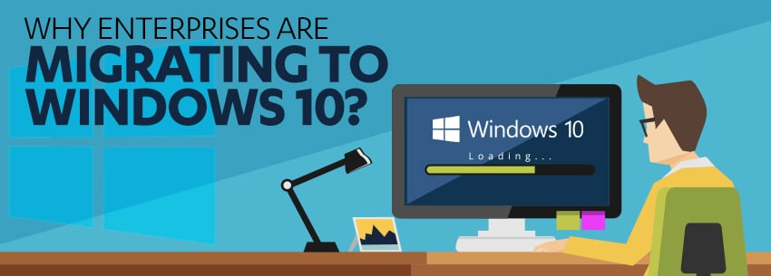 Why Enterprises Are Migrating to Windows 10? EOS, Security, Survey Says