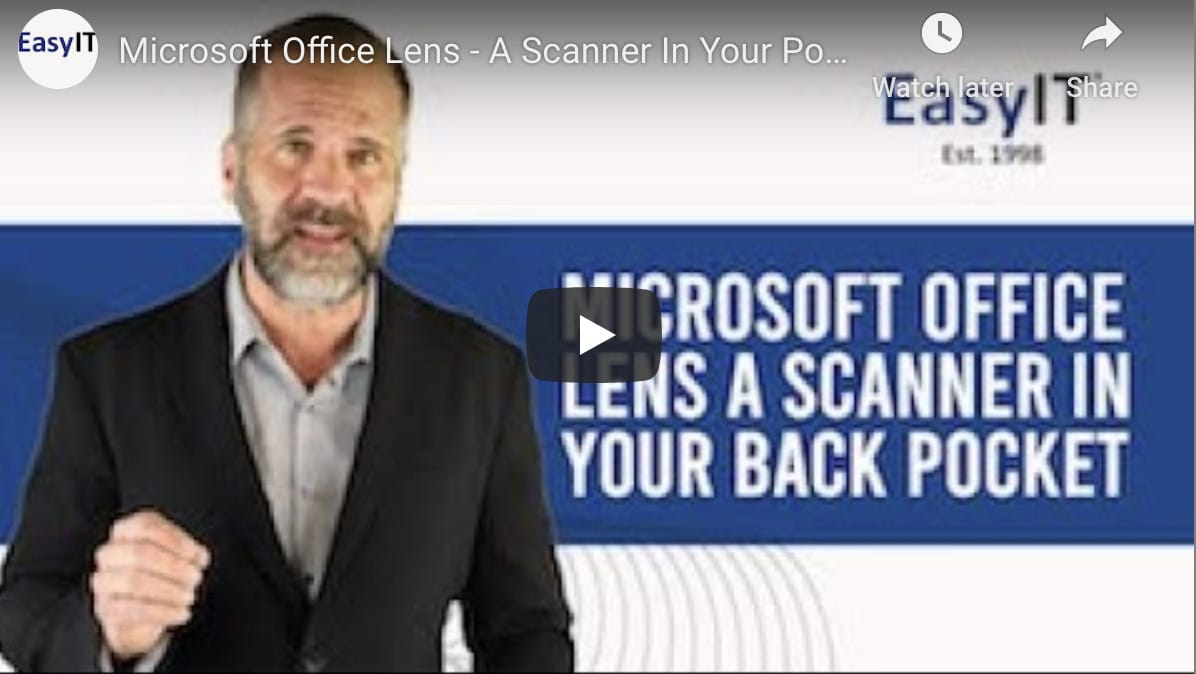 Has Your Columbus Business Tried Microsoft Office Lens?